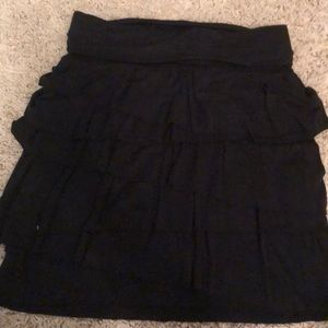 Ann Taylor LOFT petite black skirt